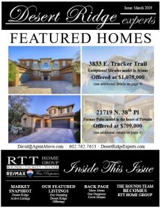 Desert Ridge Experts – David Tucker | RE/MAX Fine Properties